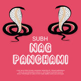 Nag Panchami Στοκ Εικόνα