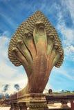 Naga σε Angkor wat Στοκ Φωτογραφία
