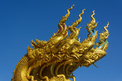 Naga τέσσερα κεφάλια Στοκ Φωτογραφία