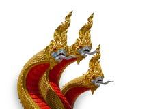 Naga ваяют в виске Стоковые Изображения