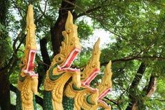 Naga ваяют в виске Lao Стоковые Изображения RF