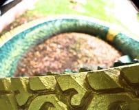 Naga ваяют в виске Lao Стоковое Изображение RF