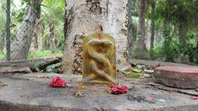 Naga bandam idol. Hundu gods ,snakes,Nagadeva Nagadeva idol stock images