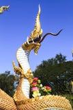 Naga Buddha Guardian Stock Image