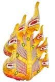 Naga da estátua 7 cabeças Fotos de Stock