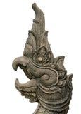 Naga de piedra tallado foto de archivo libre de regalías