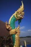 Naga do verde esmeralda Imagem de Stock
