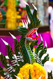 Naga, feito a mão das folhas da banana Imagens de Stock Royalty Free