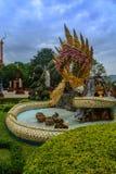 Naga fountain Stock Photos
