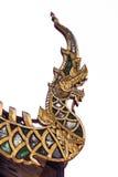 Naga gable apex isolated Royalty Free Stock Photos