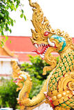 naga head statue Royalty Free Stock Photos