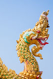 Naga head statue Royalty Free Stock Photography
