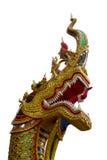 Naga head statue Royalty Free Stock Photos