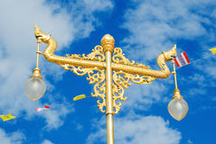 Naga Head Street lamp Stock Image