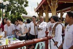Naga hindu ceremony in thailand Royalty Free Stock Photos