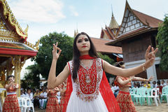 Naga hindu ceremony in thailand Stock Photography