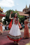 Naga hindu ceremony in thailand Stock Photos
