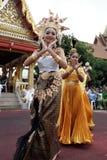 Naga hindu ceremony in thailand Royalty Free Stock Images