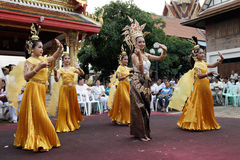 Naga hindu ceremony in thailand Royalty Free Stock Image