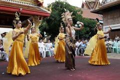Naga hinduska ceremonia w Thailand Obraz Royalty Free