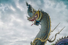 Naga hoofdstandbeeld Stock Afbeelding