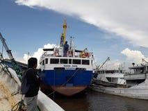 Naga Jaya Surabaya Ship Fotografering för Bildbyråer