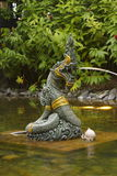 Naga,the king of snake Stock Images