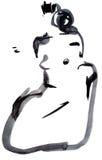 naga kobieta ilustracji