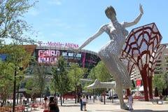 Naga kobiety statua Fotografia Stock