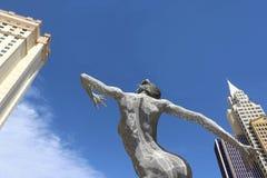 Naga kobiety statua Zdjęcie Royalty Free