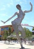 Naga kobiety statua Obraz Royalty Free
