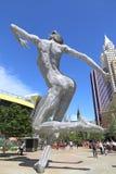 Naga kobiety statua Obrazy Royalty Free