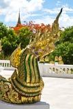 Naga at the Luang Prabang palace Royalty Free Stock Photography