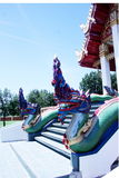 Naga the mythical animal Royalty Free Stock Images