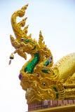 Naga op het dak Royalty-vrije Stock Fotografie
