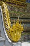 Naga przy Szmaragdową Buddha świątynią Zdjęcie Stock