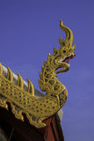 Naga Roof royalty free stock image