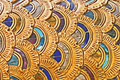 Naga scale for pattern and background Royalty Free Stock Photo