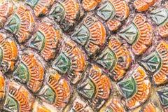 Naga Scale Texture Stock Image