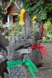 Naga sculpture Stock Photography