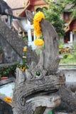Naga sculpture Stock Images