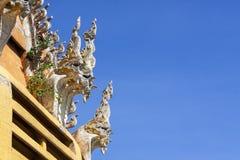 Naga sculpture Stock Photos