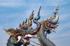 Naga, serpente immagini stock libere da diritti