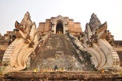 Naga stair Royalty Free Stock Images