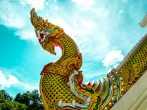 Naga stair is art of culture Stock Image