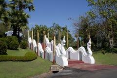 Naga stairway Royalty Free Stock Image