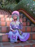 Naga Stairway, Doi Suthep Temple Stock Photos