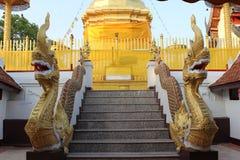 Naga stairway Stock Image