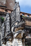 Naga statua, Chiang Mai Zdjęcia Royalty Free