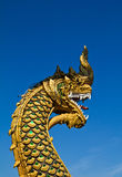 Naga statue Stock Images